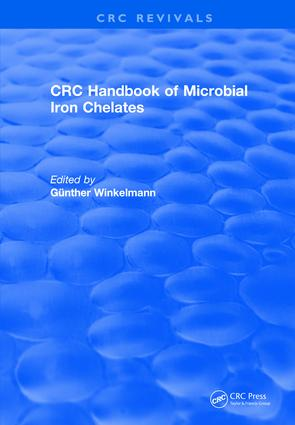 Revival: Handbook of Microbial Iron Chelates (1991): 1st Edition (Paperback) book cover