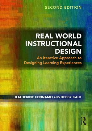 Real World Instructional Design: An Iterative Approach to Designing Learning Experiences, 2nd Edition (Paperback) book cover