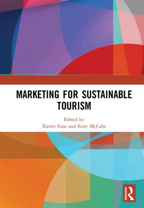 Marketing for Sustainable Tourism: 1st Edition (Hardback) book cover