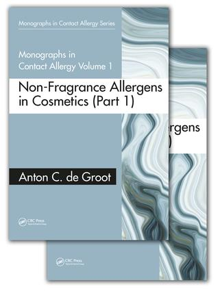 Monographs in Contact Allergy, Volume 1: Non-Fragrance Allergens in Cosmetics (Part 1 and Part 2) book cover