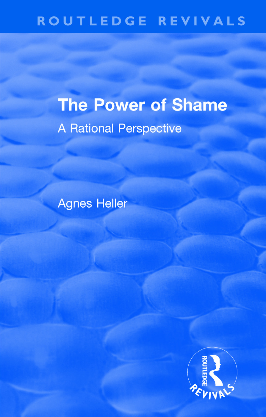 Routledge Revivals: The Power of Shame (1985): A Rational Perspective book cover