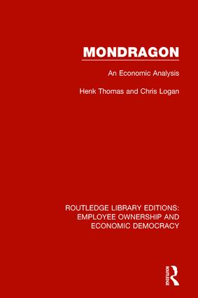 Mondragon: An Economic Analysis book cover