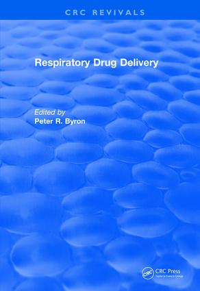Revival: Respiratory Drug Delivery (1989): 1st Edition (Paperback) book cover