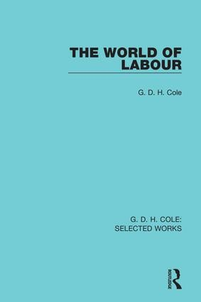 The World of Labour book cover