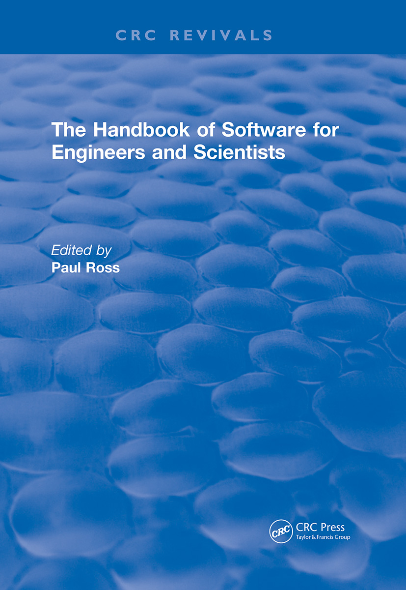 Revival: The Handbook of Software for Engineers and Scientists (1995)
