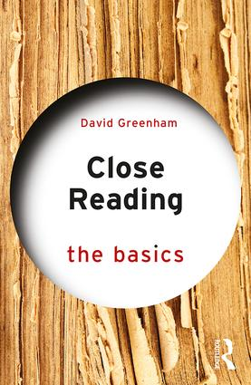 Close Reading: The Basics: 1st Edition (Paperback) book cover