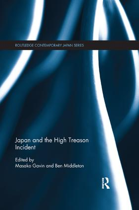 Japan and the High Treason Incident book cover