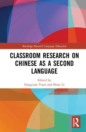 Classroom Research on Chinese as a Second Language book cover