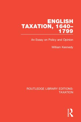 Routledge Library Editions: Taxation book cover