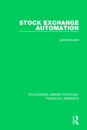Stock Exchange Automation book cover