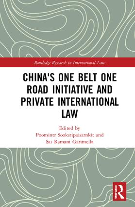 China's One Belt One Road Initiative and Private International Law book cover