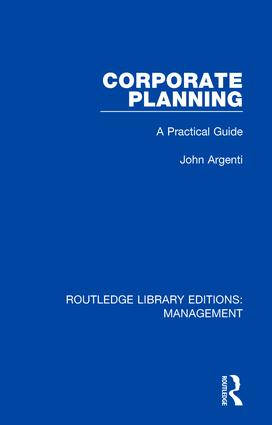 Corporate Planning: A Practical Guide, 1st Edition (Hardback) book cover