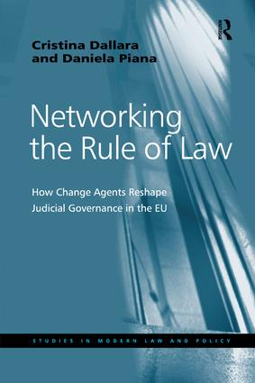 Networking the Rule of Law: How Change Agents Reshape Judicial Governance in the EU book cover