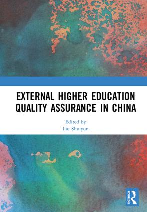 External Higher Education Quality Assurance in China book cover