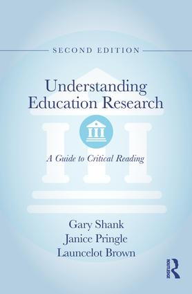 Understanding Education Research: A Guide to Critical Reading book cover