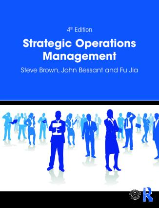 Strategic Operations Management: 4th Edition (Paperback) book cover