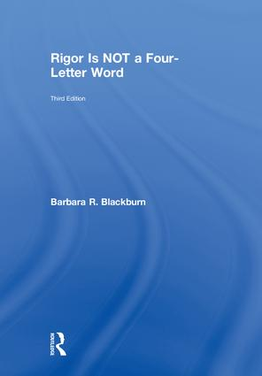 Rigor Is NOT a Four-Letter Word: 3rd Edition (Hardback) book cover