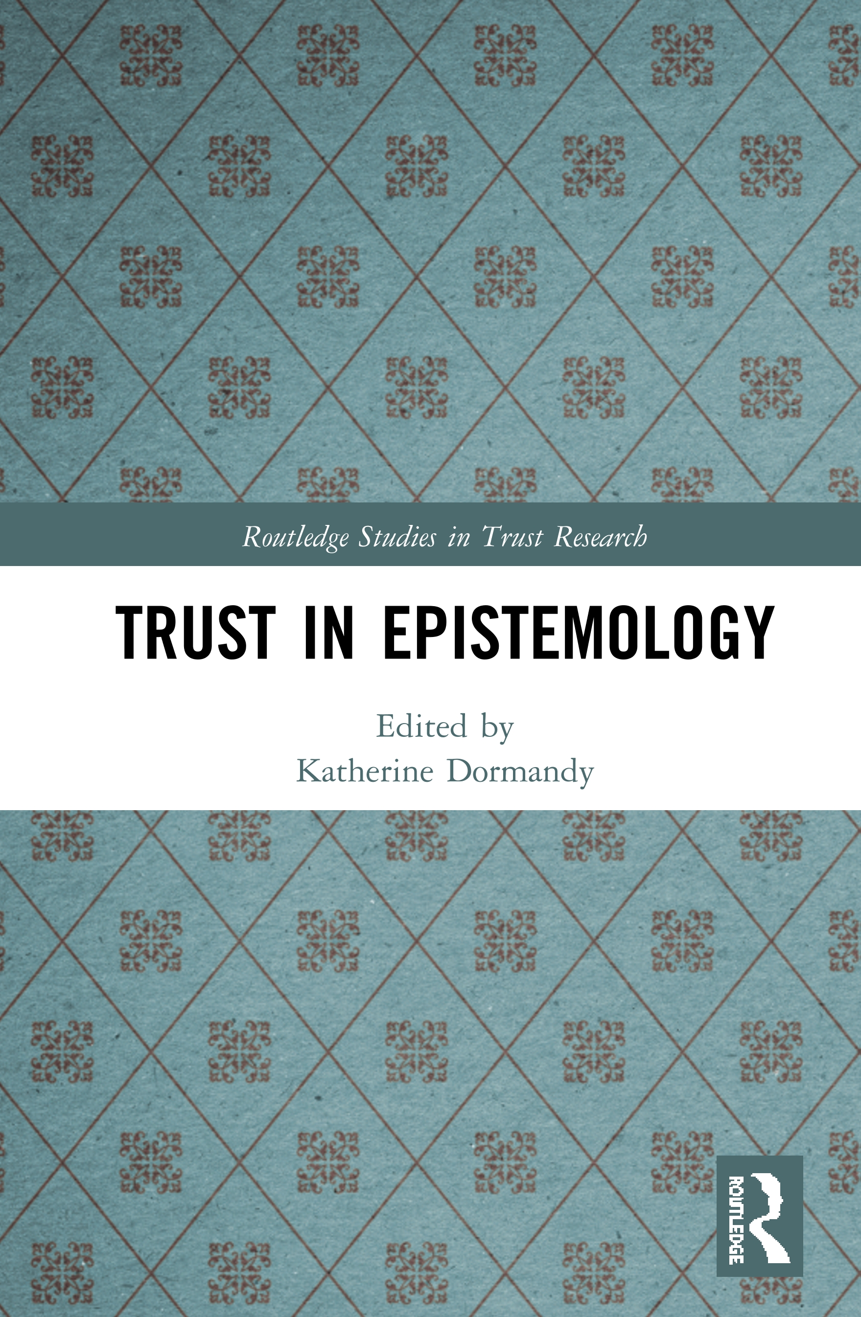 Trust in Epistemology book cover