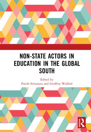 Non-State Actors in Education in the Global South: 1st Edition (Hardback) book cover