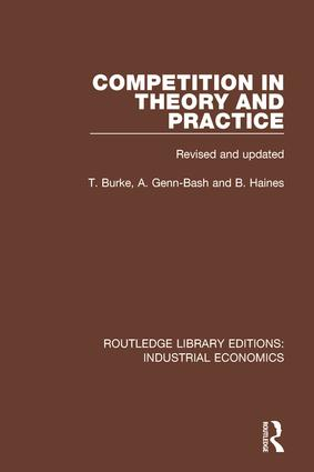 Competition in Theory and Practice book cover