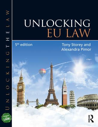Unlocking EU Law: 5th Edition (Paperback) book cover