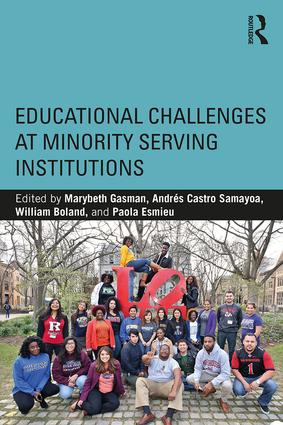 Educational Challenges at Minority Serving Institutions book cover
