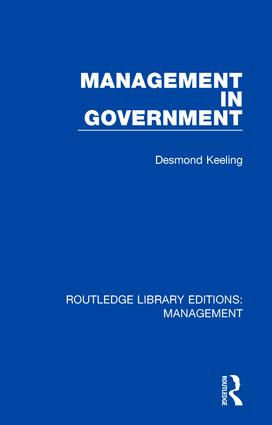 Management in Government book cover