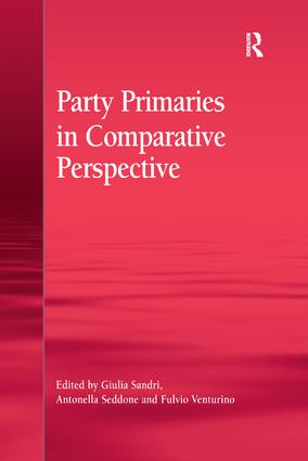 Party Primaries in Comparative Perspective book cover