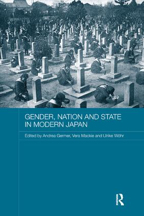 Gender, Nation and State in Modern Japan (Paperback) book cover