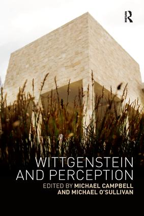 Wittgenstein and Perception: 1st Edition (e-Book) book cover