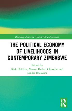 The Political Economy of Livelihoods in Contemporary Zimbabwe book cover