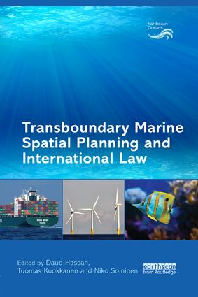 Transboundary Marine Spatial Planning and International Law book cover