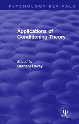 Applications of Conditioning Theory book cover