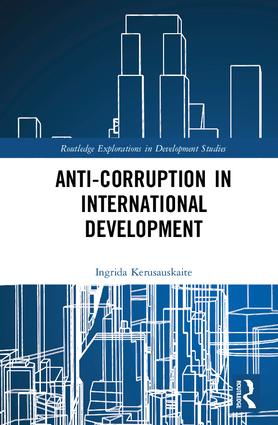 Anti-Corruption in International Development (Hardback) book cover