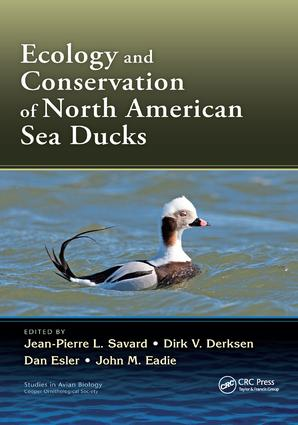 Ecology and Conservation of North American Sea Ducks: 1st Edition (Paperback) book cover