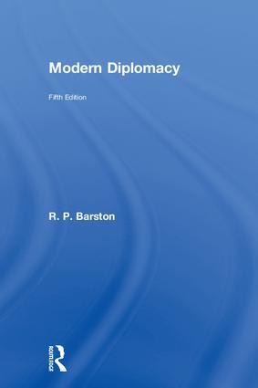 Modern Diplomacy: 5th Edition (Hardback) book cover