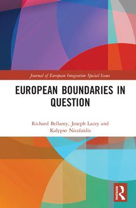 European Boundaries in Question book cover
