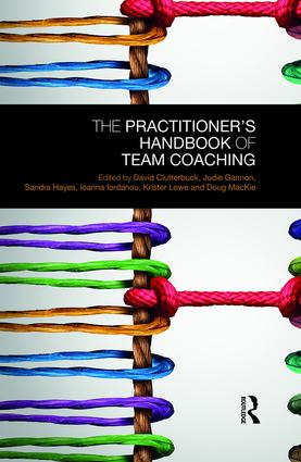 The Practitioner's Handbook of Team Coaching: 1st Edition (Hardback) book cover