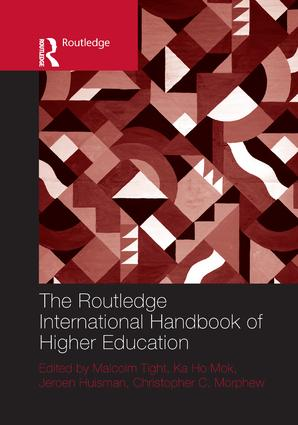 The Routledge International Handbook of Higher Education book cover