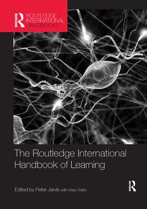 The Routledge International Handbook of Learning: 1st Edition (Paperback) book cover