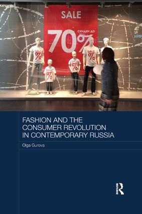 Fashion and the Consumer Revolution in Contemporary Russia book cover