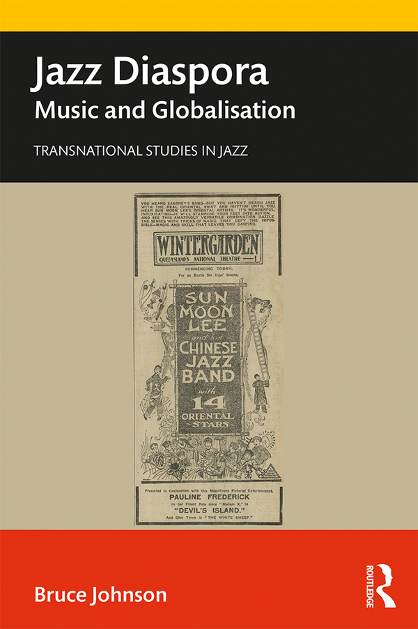 Jazz Diaspora: Music and Globalisation, 1st Edition (e-Book) book cover
