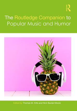 The Routledge Companion to Popular Music and Humor book cover