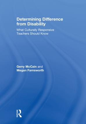 Determining Difference from Disability: What Culturally Responsive Teachers Should Know book cover