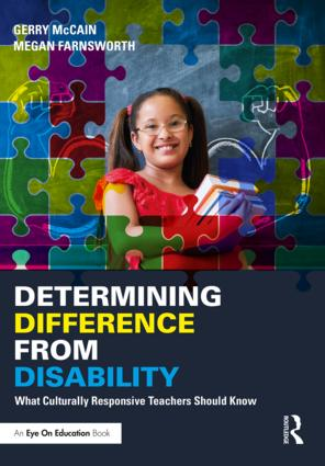 Determining Difference from Disability: What Culturally Responsive Teachers Should Know (Paperback) book cover