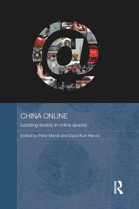 China Online: Locating Society in Online Spaces, 1st Edition (Paperback) book cover