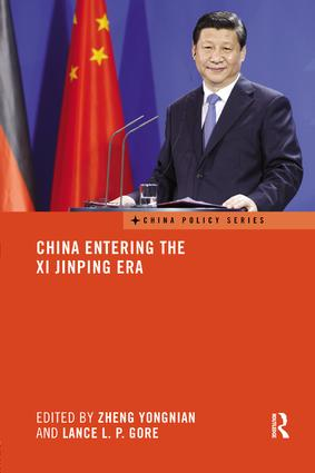 China Entering the Xi Jinping Era: 1st Edition (Paperback) book cover