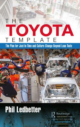 The Toyota Template: The Plan for Just-In-Time and Culture Change Beyond Lean Tools, 1st Edition (Hardback) book cover