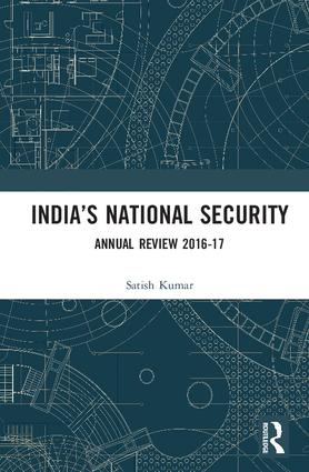 India's National Security: Annual Review 2016-17 book cover