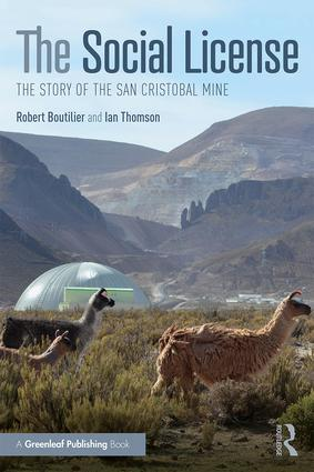 The Social License: The Story of the San Cristobal Mine, 1st Edition (Paperback) book cover